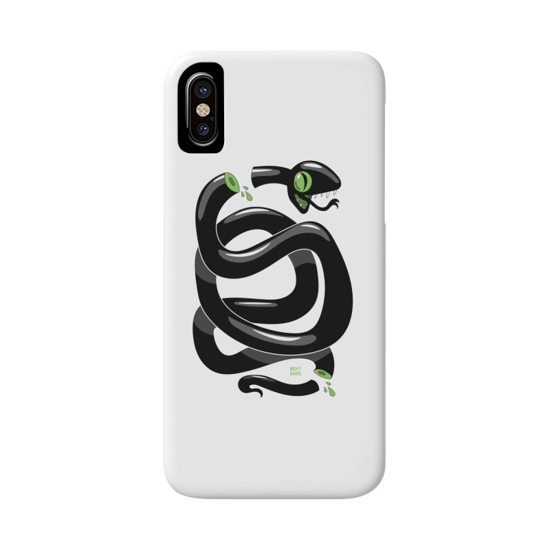 Chopped Snake Accessories Phone Case by Nicky Davis Threadless Shop