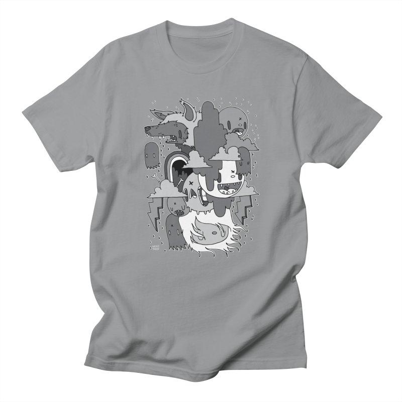 Rainy Day - Gray Women's Regular Unisex T-Shirt by Nicky Davis Threadless Shop