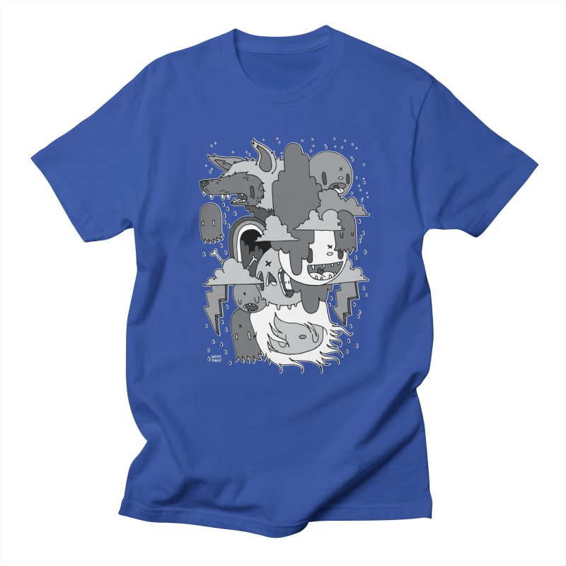 Rainy Day - Gray Men's Regular T-Shirt by Nicky Davis Threadless Shop