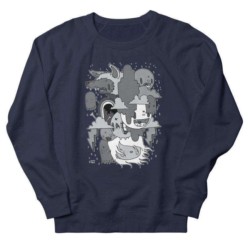 Rainy Day - Gray Women's French Terry Sweatshirt by Nicky Davis Threadless Shop