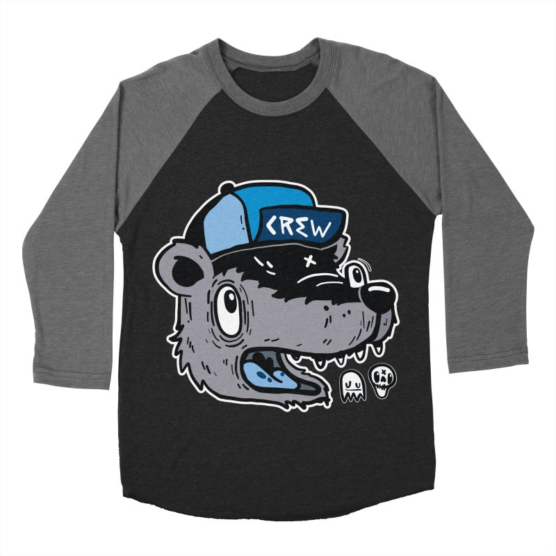 CREW Men's Baseball Triblend Longsleeve T-Shirt by Nicky Davis Threadless Shop
