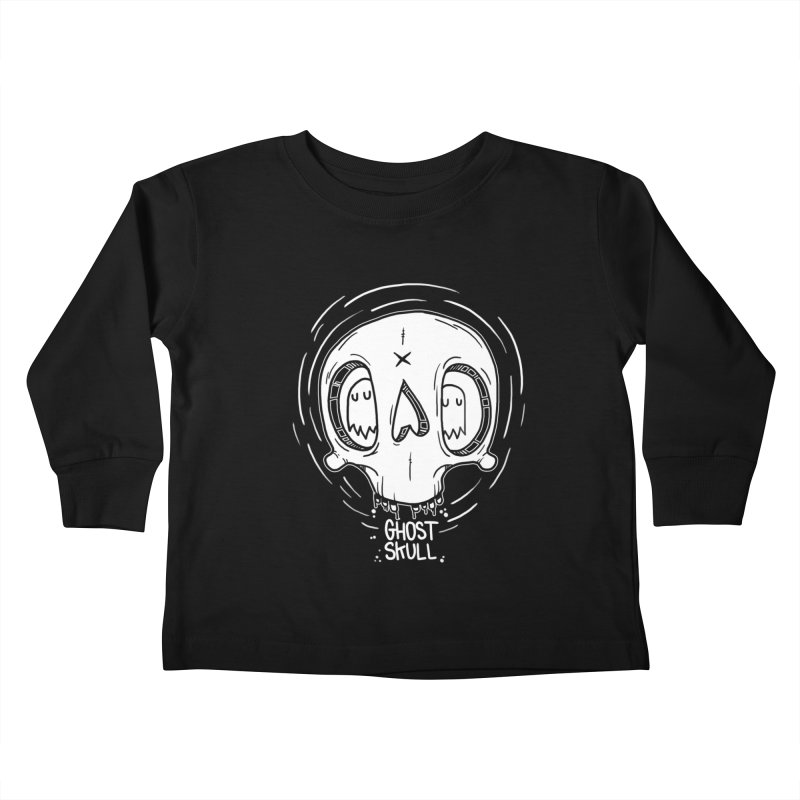 Ghost Skull In Your Head Kids Toddler Longsleeve T-Shirt by Nicky Davis Threadless Shop