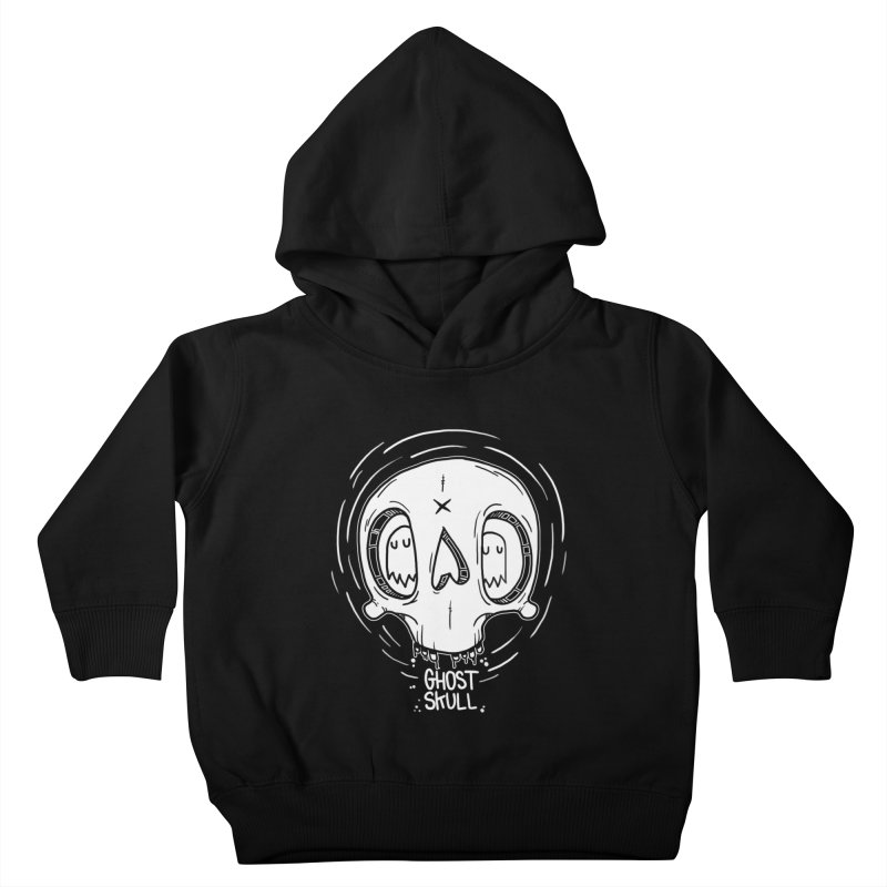Ghost Skull In Your Head Kids Toddler Pullover Hoody by Nicky Davis Threadless Shop