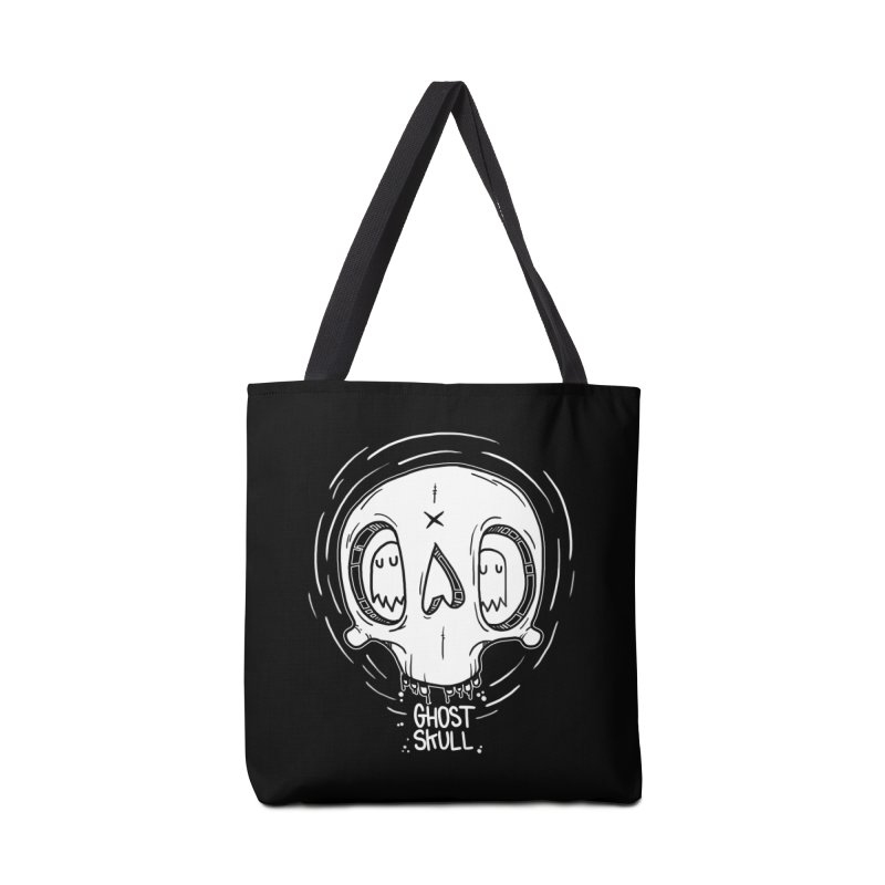Ghost Skull In Your Head Accessories Bag by Nicky Davis Threadless Shop