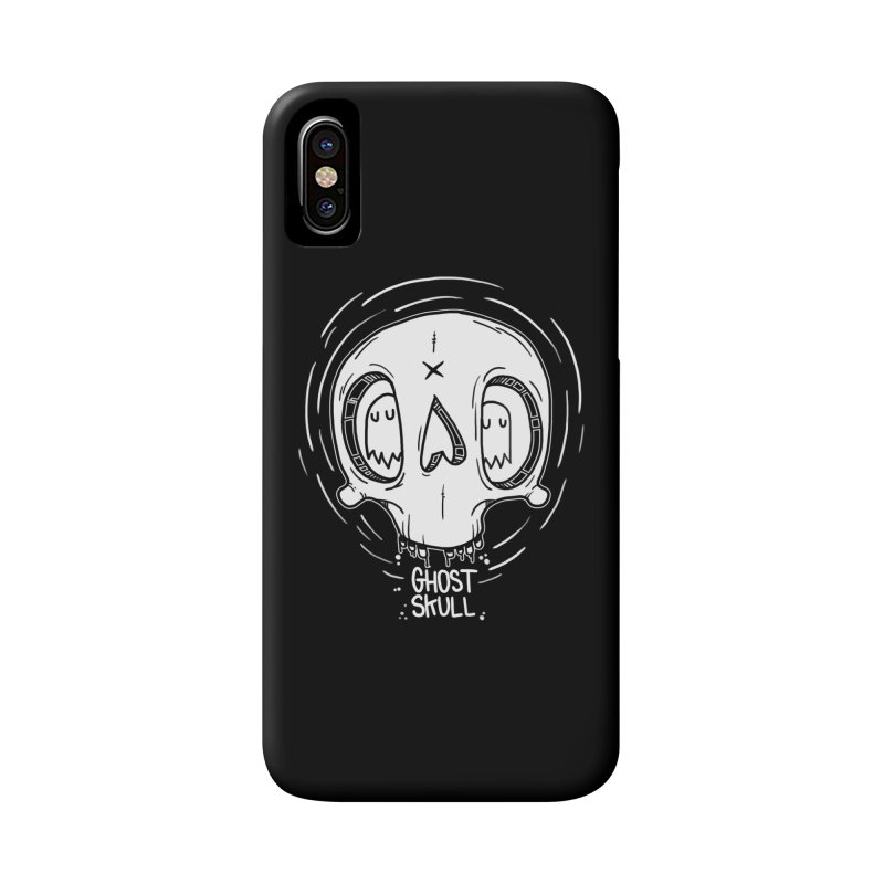 Ghost Skull In Your Head Accessories Phone Case by Nicky Davis Threadless Shop