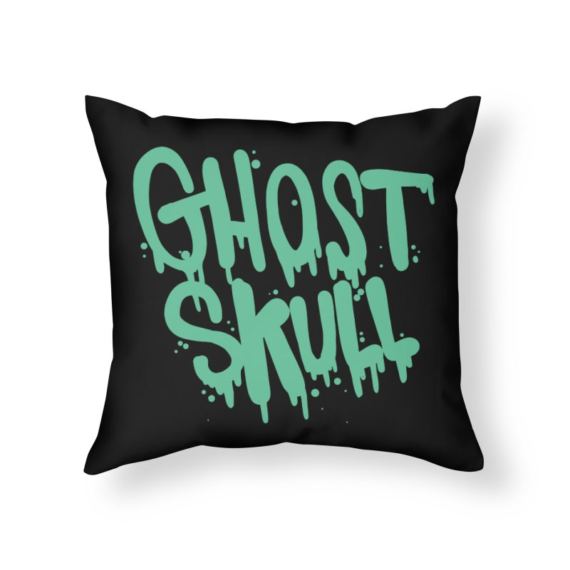 EctoPlasm Home Throw Pillow by Nicky Davis Threadless Shop