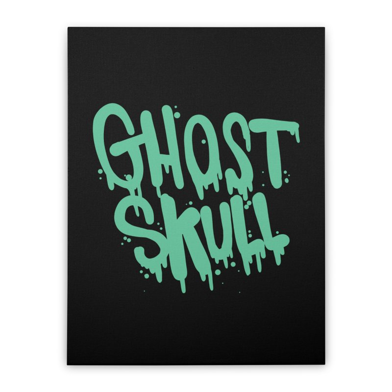 EctoPlasm Home Stretched Canvas by Nicky Davis Threadless Shop