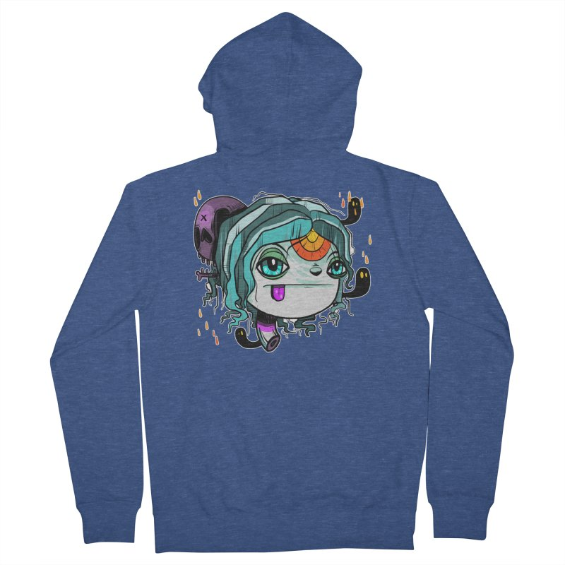 Oh Well Women's French Terry Zip-Up Hoody by Nicky Davis Threadless Shop