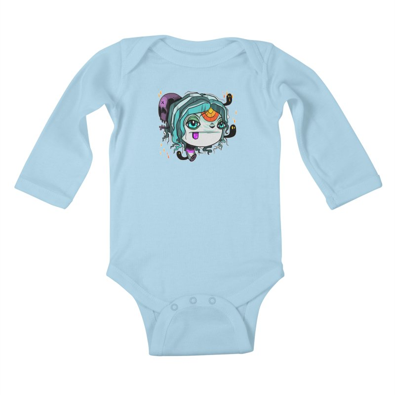 Oh Well Kids Baby Longsleeve Bodysuit by Nicky Davis Threadless Shop