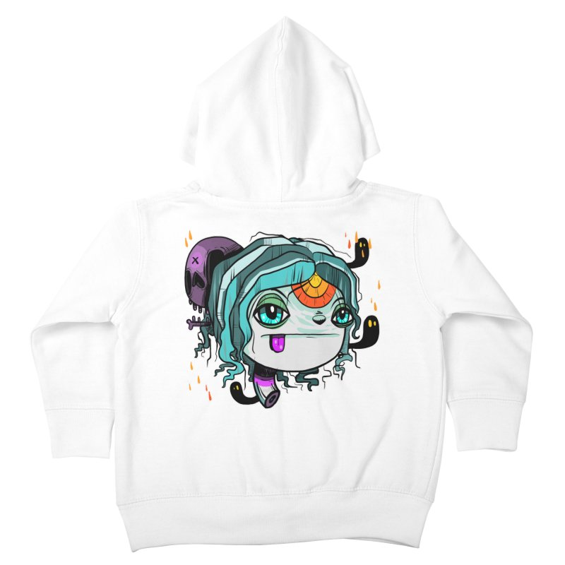 Oh Well Kids Toddler Zip-Up Hoody by Nicky Davis Threadless Shop