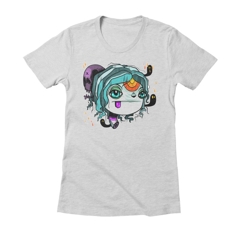 Oh Well Women's Fitted T-Shirt by Nicky Davis Threadless Shop