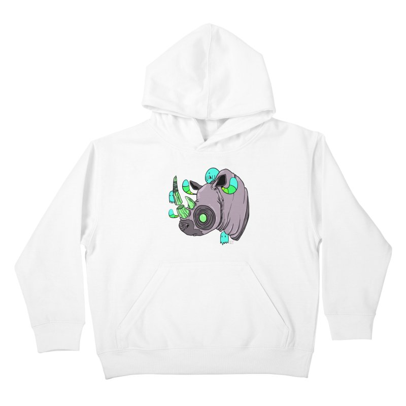 Save The Rhinos Kids Pullover Hoody by Nicky Davis Threadless Shop