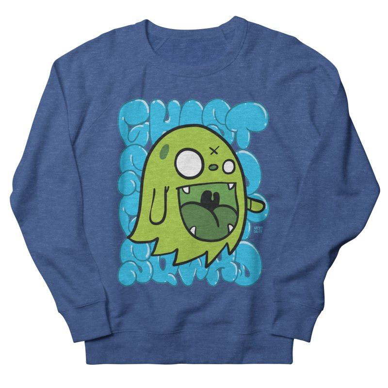 GHOST SQWAD Women's French Terry Sweatshirt by Nicky Davis Threadless Shop