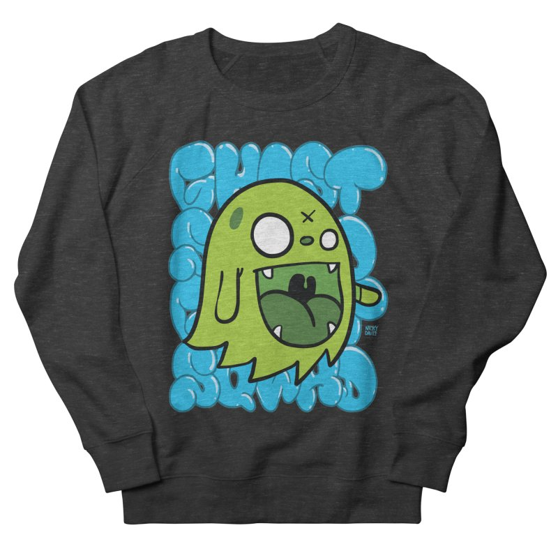 GHOST SQWAD Men's French Terry Sweatshirt by Nicky Davis Threadless Shop