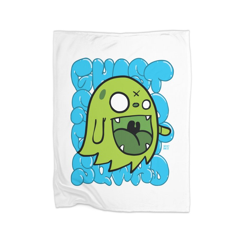 GHOST SQWAD Home Blanket by Nicky Davis Threadless Shop