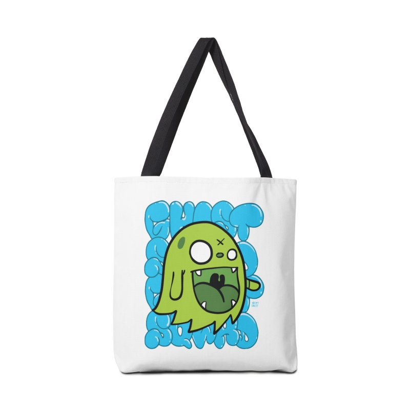 GHOST SQWAD Accessories Bag by Nicky Davis Threadless Shop