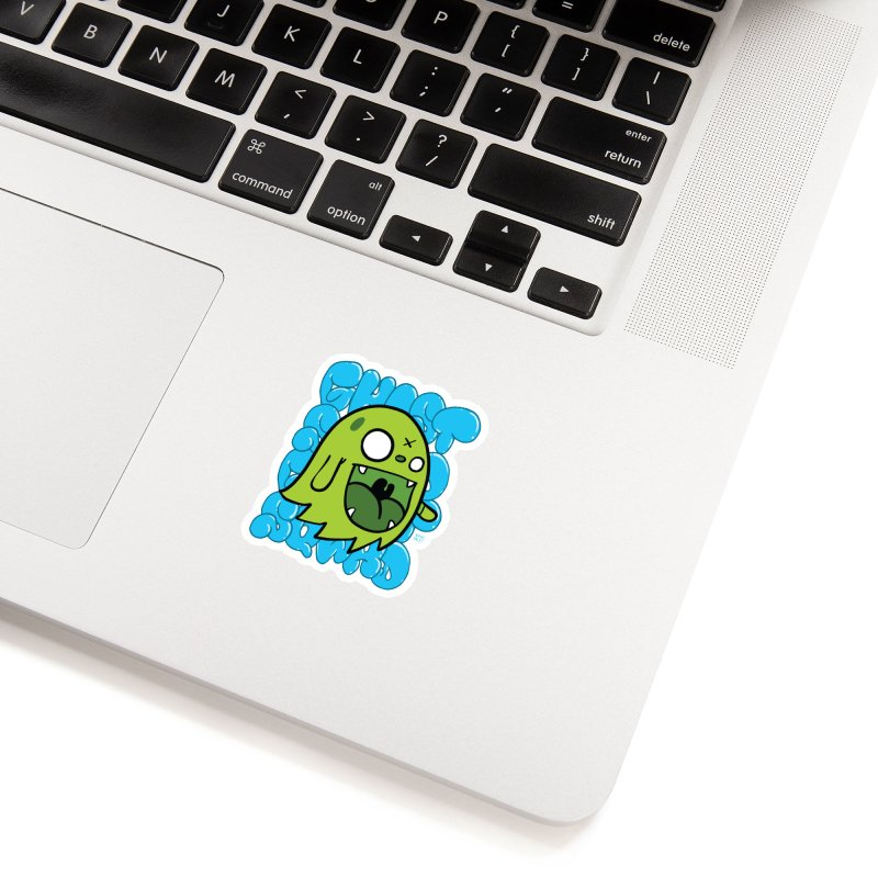 GHOST SQWAD Accessories Sticker by Nicky Davis Threadless Shop