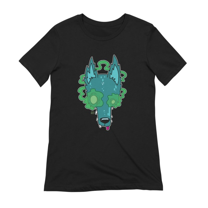 WOLF Women's Extra Soft T-Shirt by Nicky Davis Threadless Shop