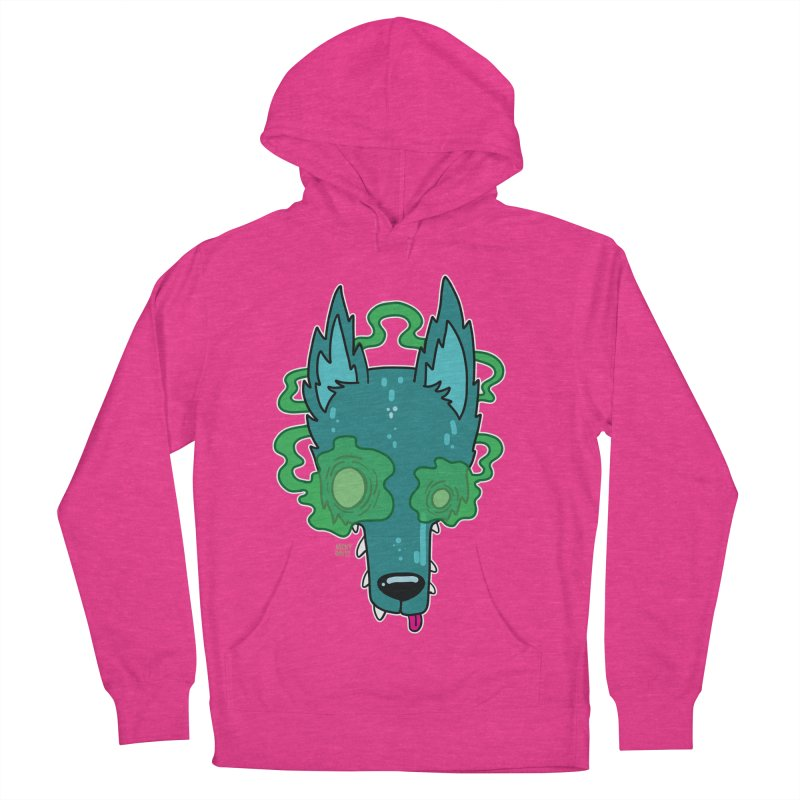 WOLF Men's French Terry Pullover Hoody by Nicky Davis Threadless Shop