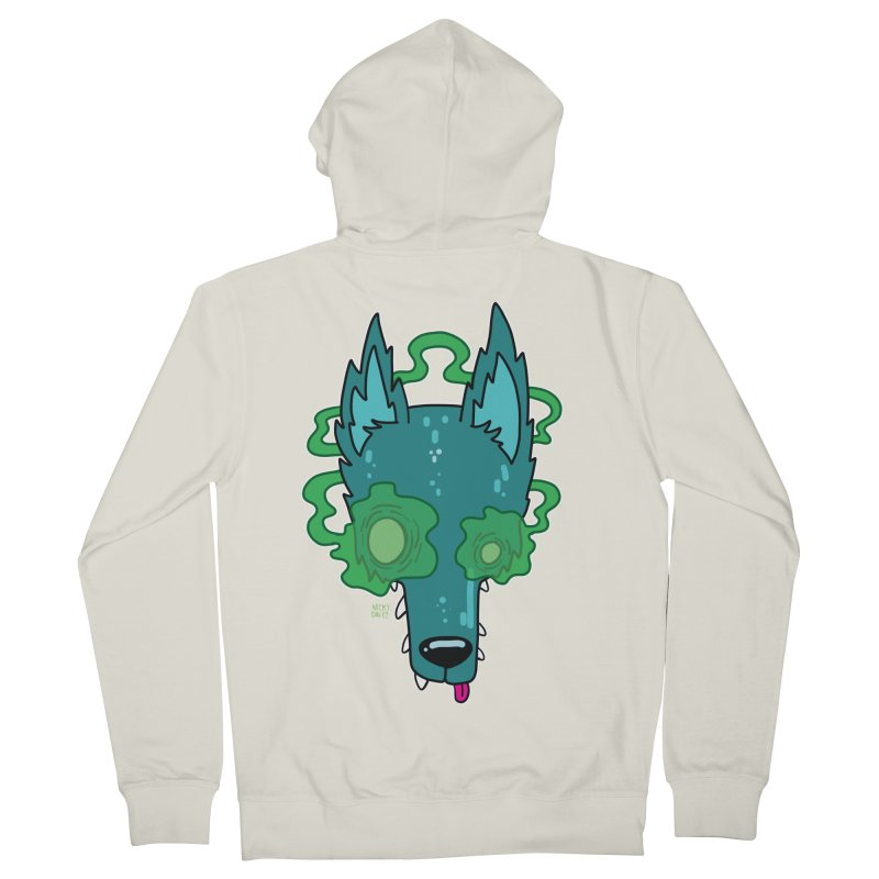 WOLF Men's French Terry Zip-Up Hoody by Nicky Davis Threadless Shop