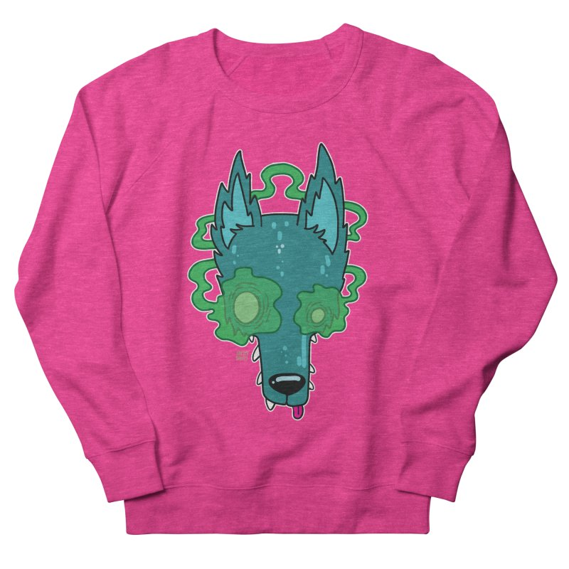 WOLF Men's French Terry Sweatshirt by Nicky Davis Threadless Shop
