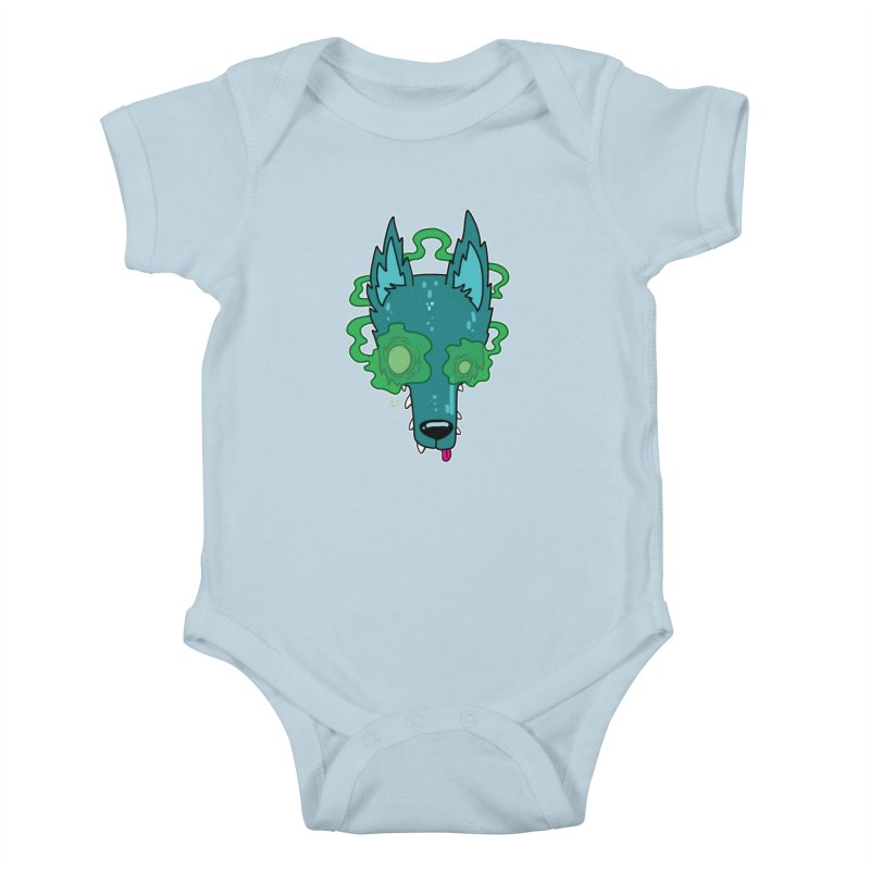 WOLF Kids Baby Bodysuit by Nicky Davis Threadless Shop
