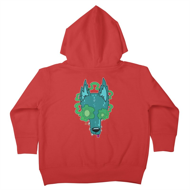 WOLF Kids Toddler Zip-Up Hoody by Nicky Davis Threadless Shop