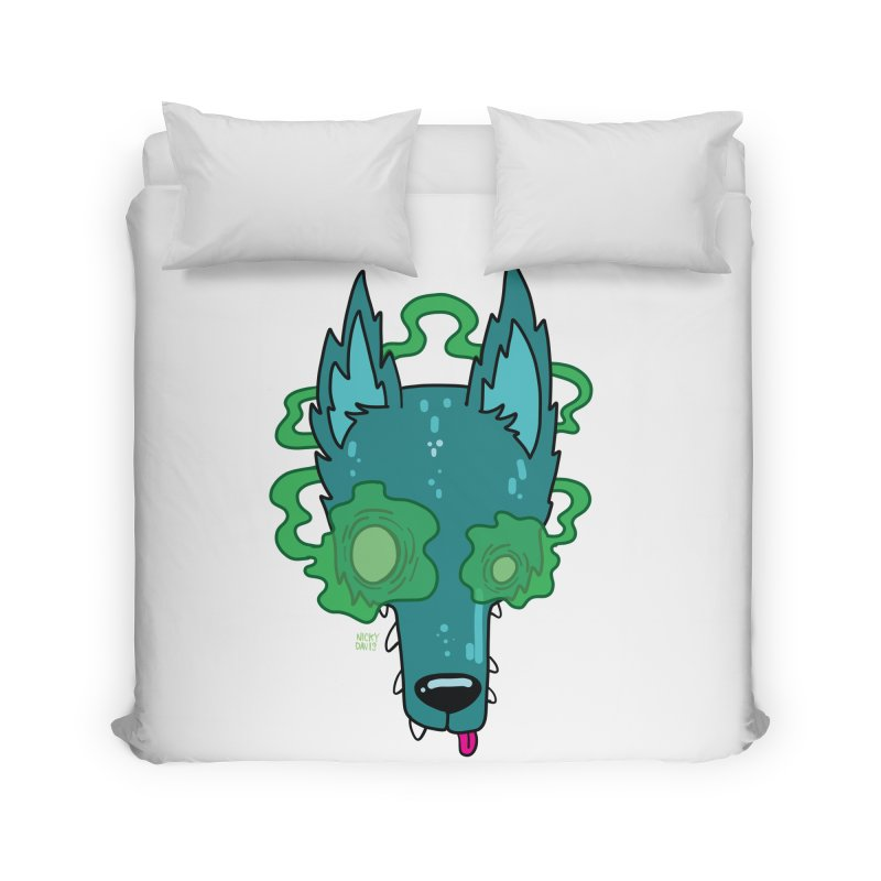 WOLF Home Duvet by Nicky Davis Threadless Shop