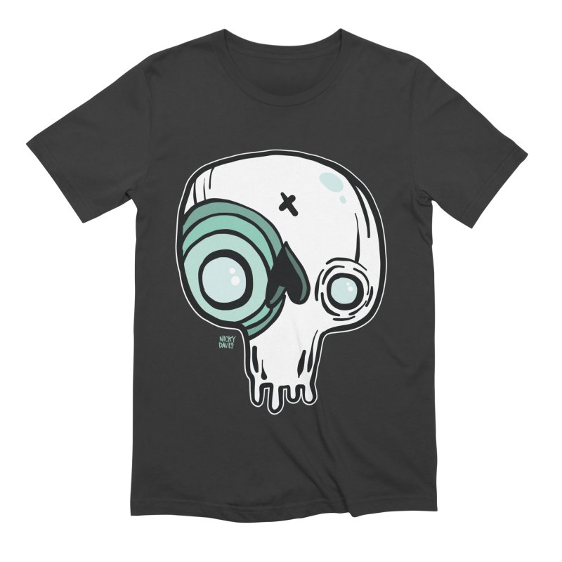 Skull #308 Men's Extra Soft T-Shirt by Nicky Davis Threadless Shop