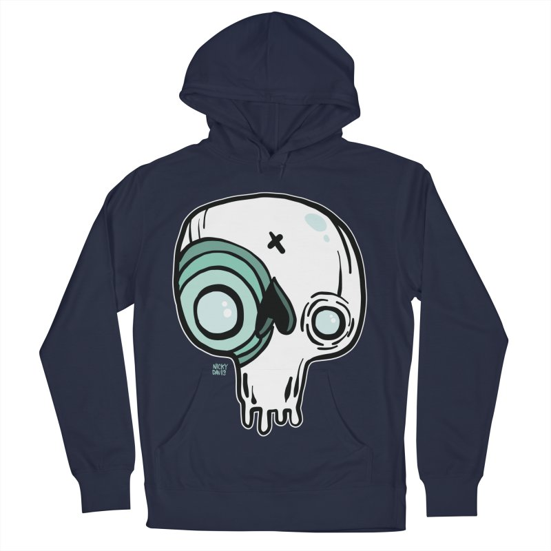 Skull #308 Men's French Terry Pullover Hoody by Nicky Davis Threadless Shop