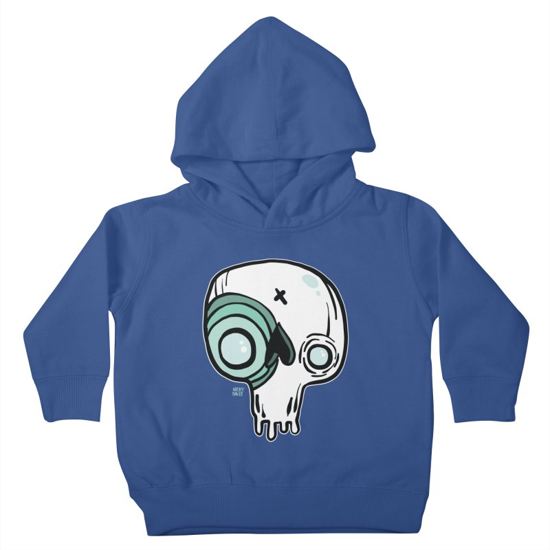 Skull #308 Kids Toddler Pullover Hoody by Nicky Davis Threadless Shop