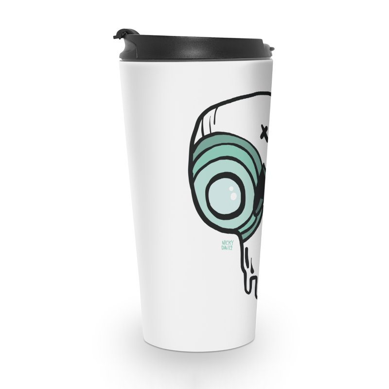 Skull #308 Accessories Travel Mug by Nicky Davis Threadless Shop