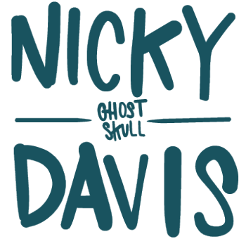 Nicky Davis Threadless Shop Logo