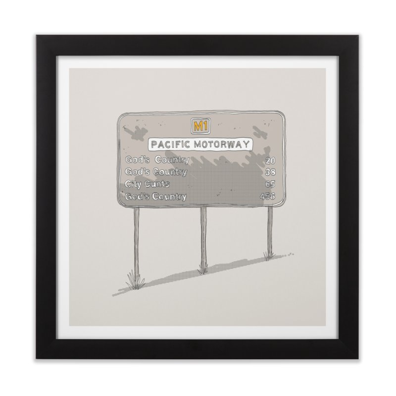 God's Country. Home Framed Fine Art Print by Nicky Dee's Artist Shop