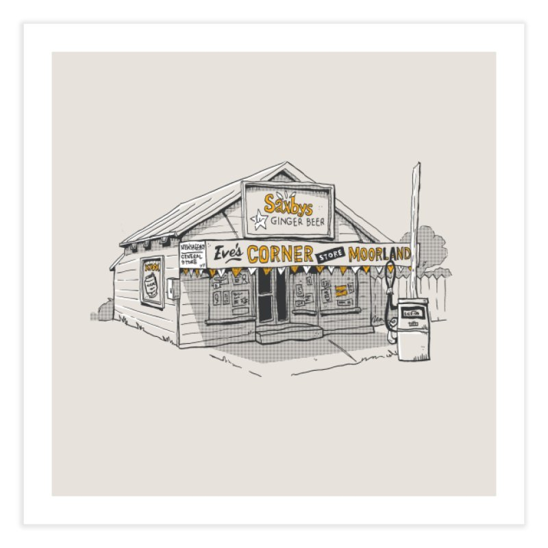 General Store. Home Fine Art Print by Nicky Dee's Artist Shop