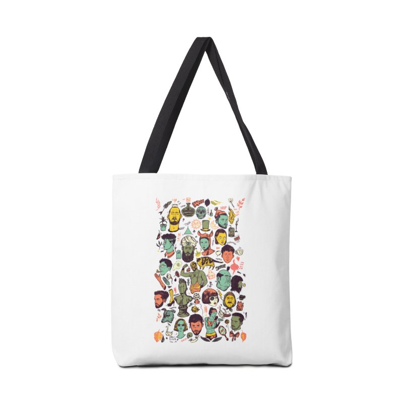 Things 01 Accessories Bag by nicolaenegura's Artist Shop