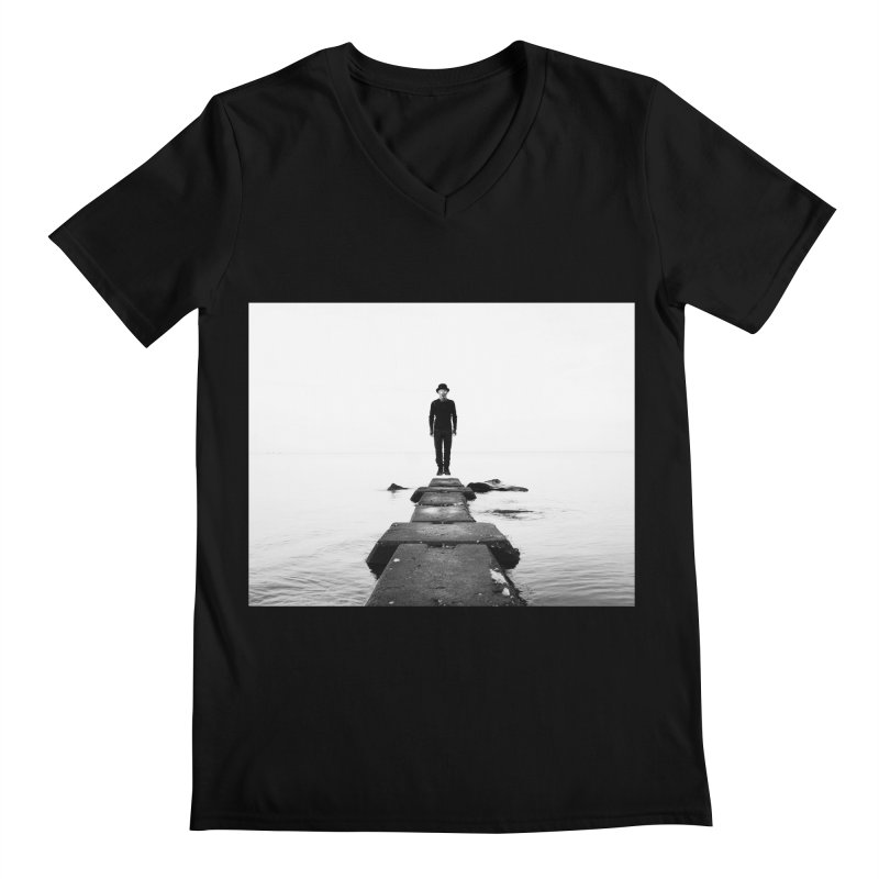 JETTI Men's V-Neck by nicolas bruno's Artist Shop