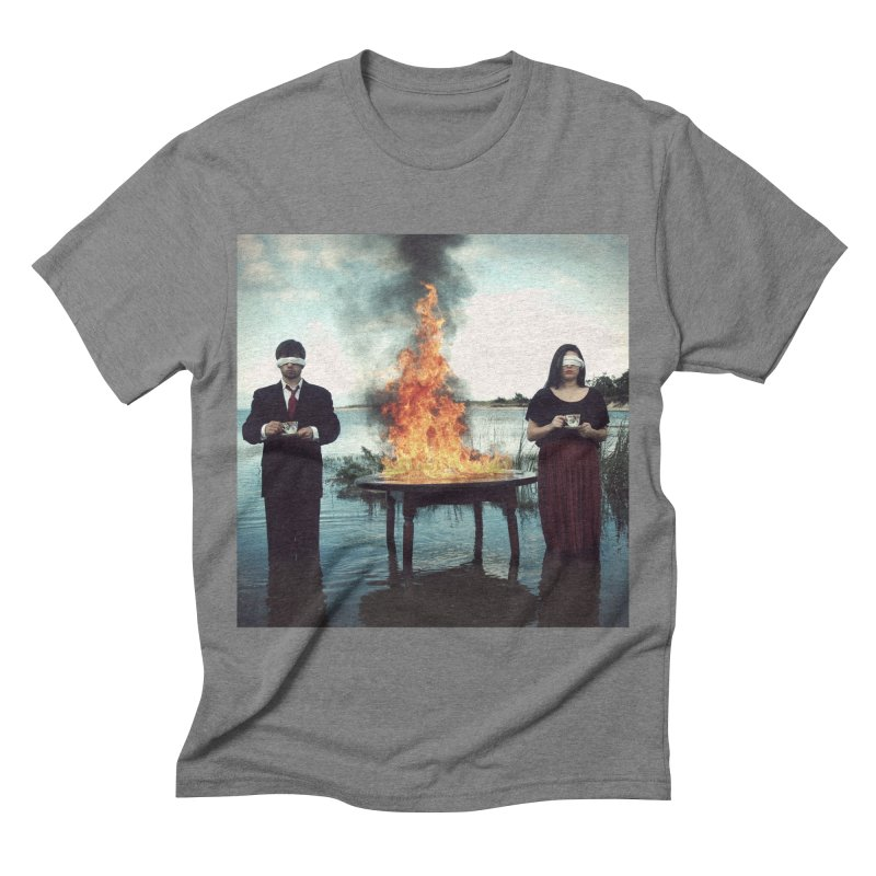INSIEME Men's Triblend T-shirt by nicolas bruno's Artist Shop