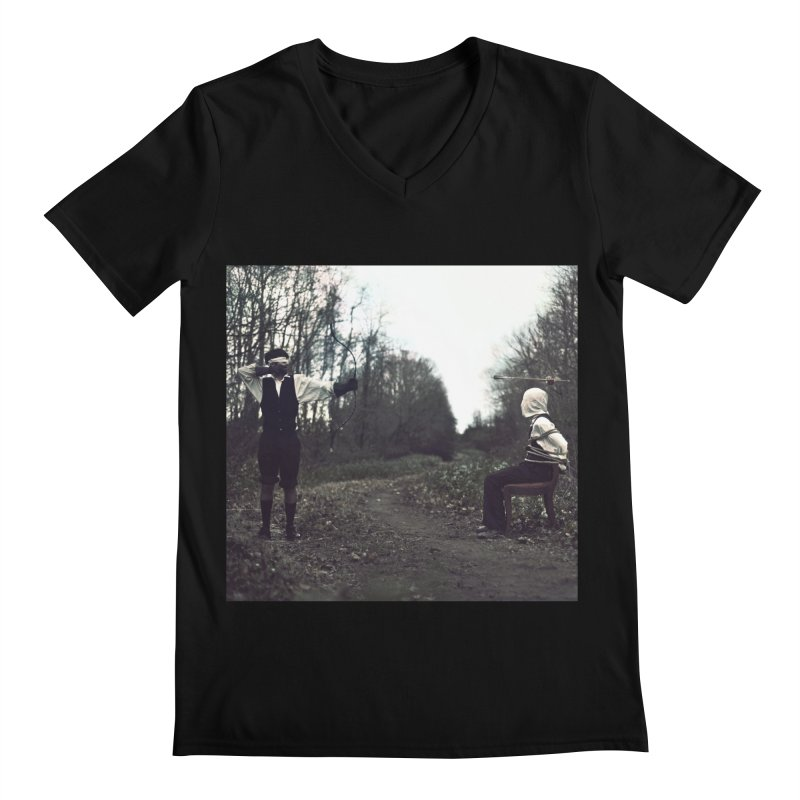 THE ESCAPE ARTIST PT. 1 Men's V-Neck by nicolas bruno's Artist Shop