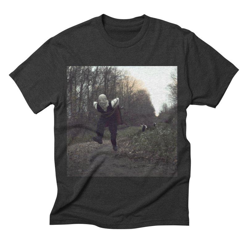 THE ESCAPE ARTIST PT. 2 Men's Triblend T-shirt by nicolas bruno's Artist Shop