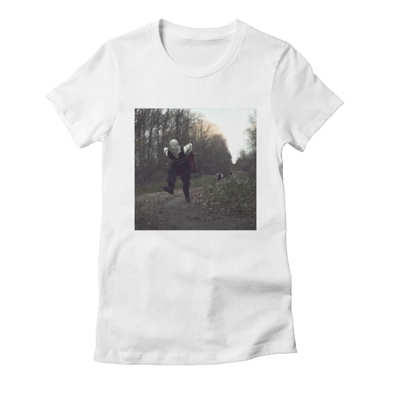 THE ESCAPE ARTIST PT. 2 Women's Fitted T-Shirt by nicolas bruno's Artist Shop