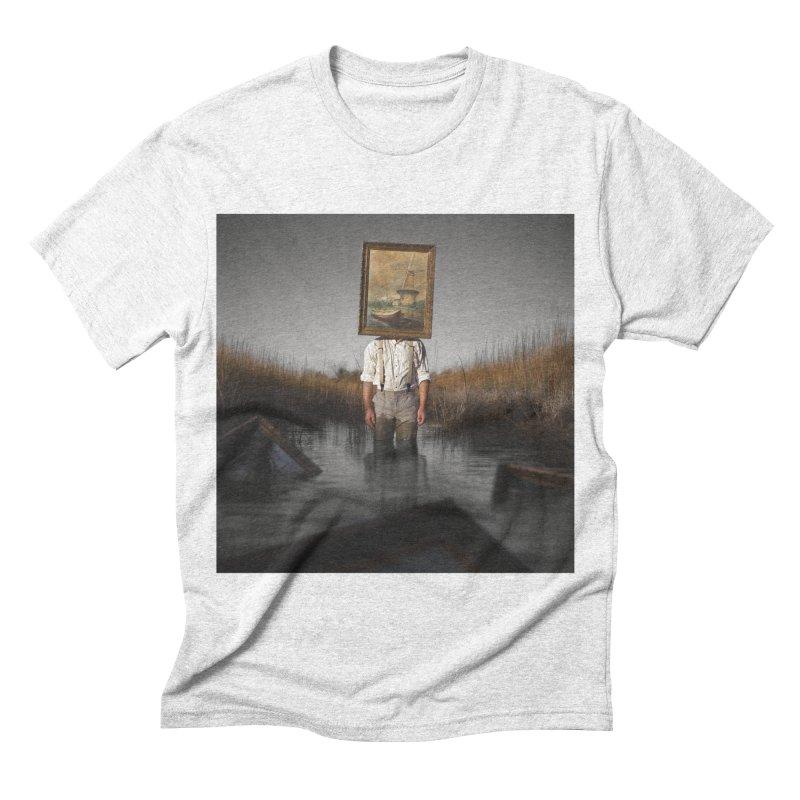 PALUDE Men's Triblend T-shirt by nicolas bruno's Artist Shop