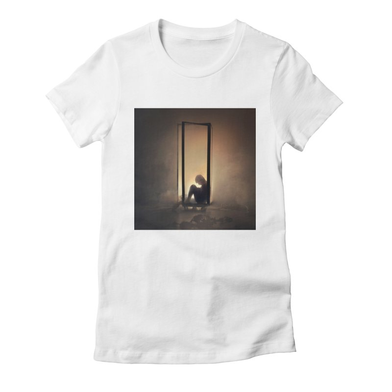 INCUBUS Women's Fitted T-Shirt by nicolas bruno's Artist Shop