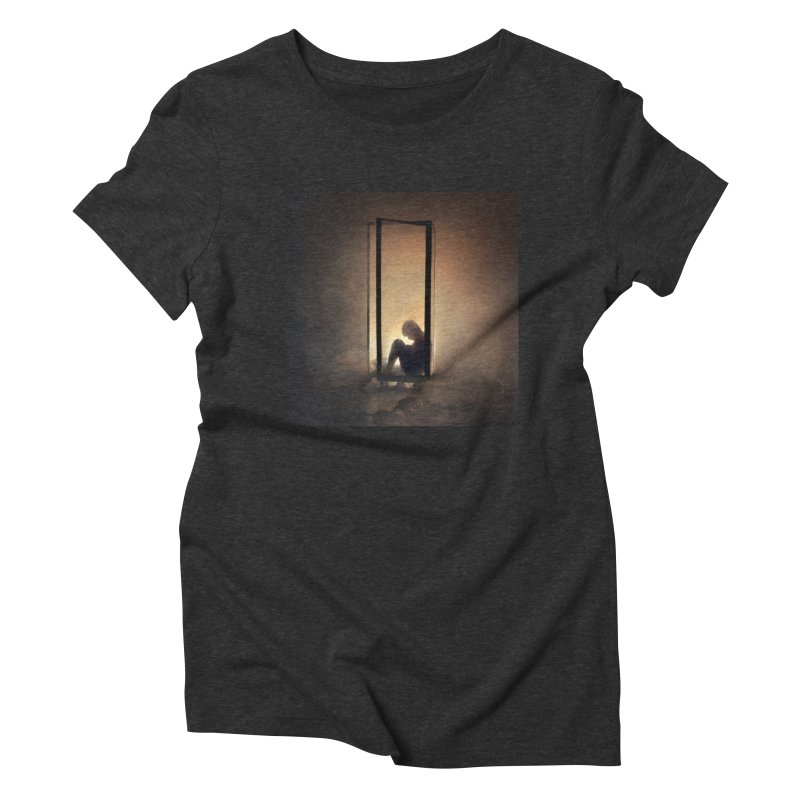 INCUBUS Women's Triblend T-shirt by nicolas bruno's Artist Shop