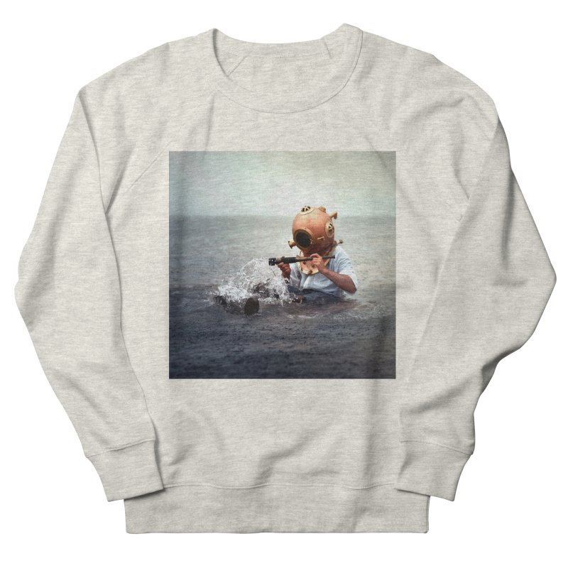 DIVER Women's Sweatshirt by nicolas bruno's Artist Shop