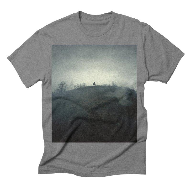 NIGHTWATCH Men's Triblend T-shirt by nicolas bruno's Artist Shop