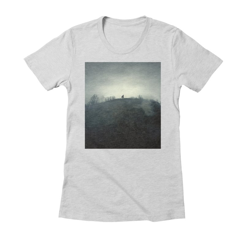 NIGHTWATCH Women's Fitted T-Shirt by nicolas bruno's Artist Shop