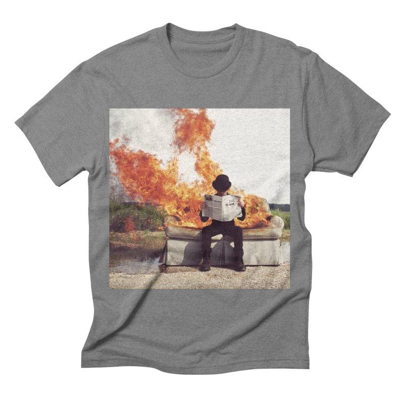 VIERI Men's Triblend T-shirt by nicolas bruno's Artist Shop