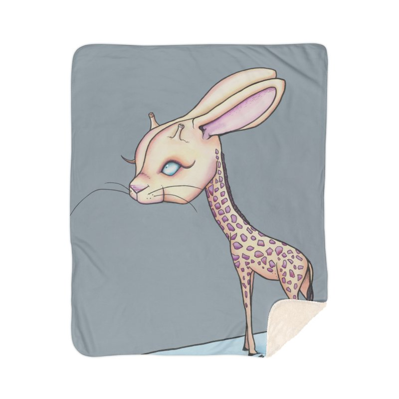 Girrabit Home Sherpa Blanket Blanket by Nicole Christman's Artist Shop