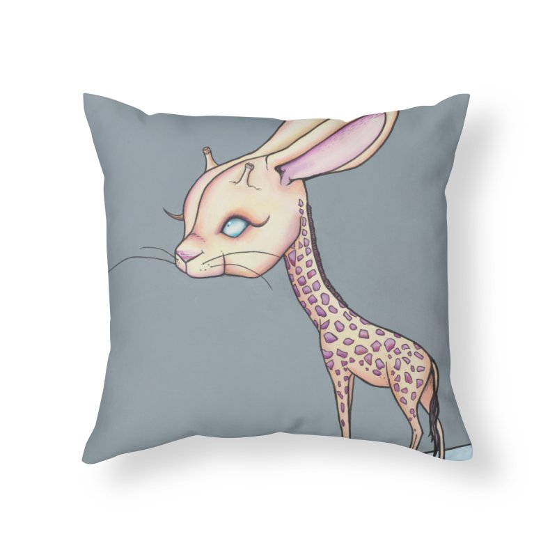 Girrabit Home Throw Pillow by Nicole Christman's Artist Shop
